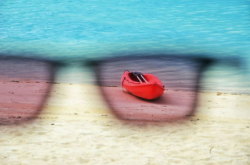 I got my eye on you. Kayak Seasport Beach Beachphotography Eye4photography  Colors Seascape Tropical Paradise Sunglasses Showcase: December Landscapes With WhiteWall Bluewave Blue Wave The Essence Of Summer- 2016 EyeEm Awards The Essence Of Summer