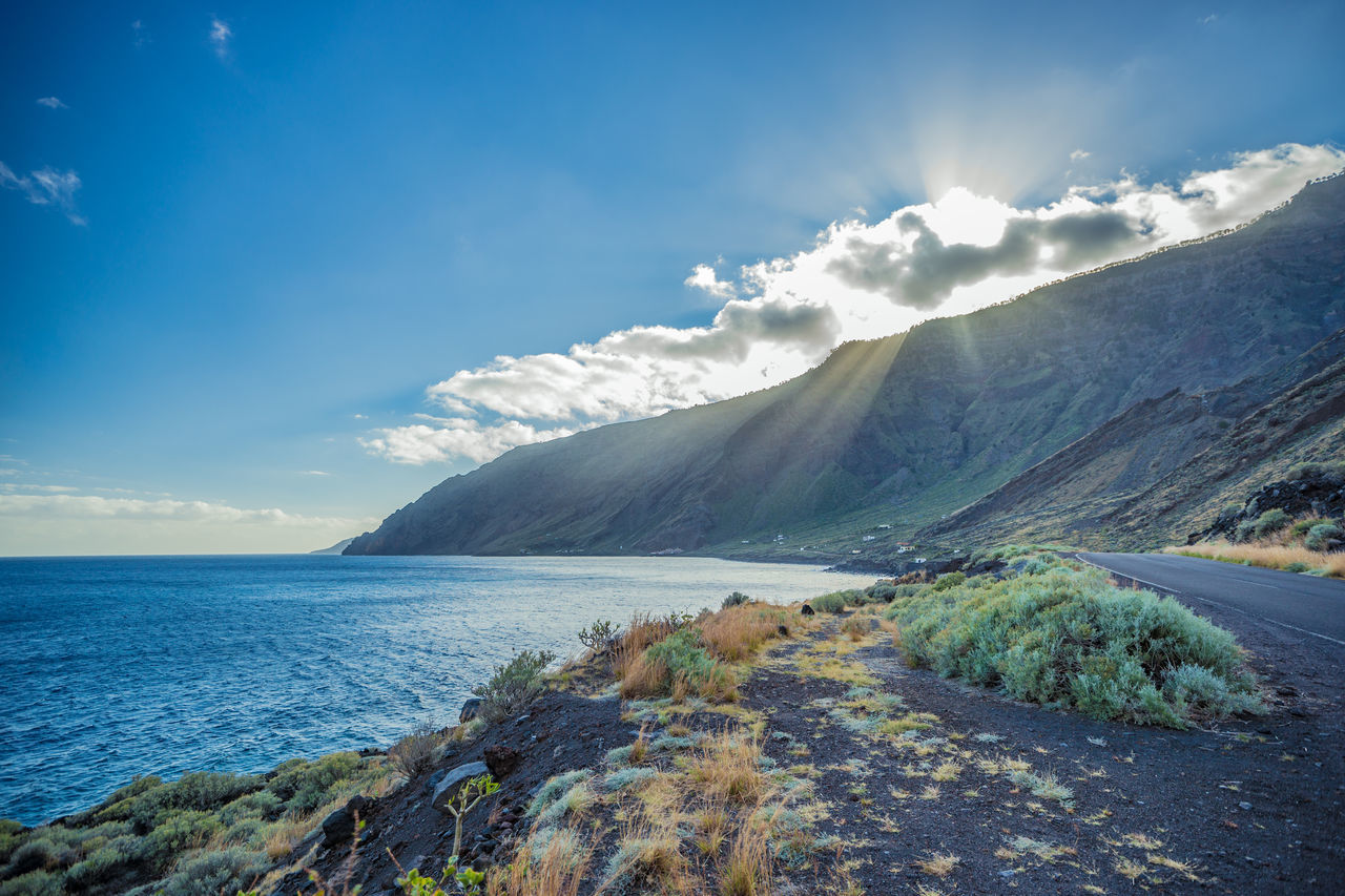 2016_02_ElHierro_ES Atlantic Ocean Canary Islands El Hierro HDR Landscape Landscape_Collection Landscape_photography Landscapes Mountain Nature No People Sunset Sunset_collection The Great Outdoors The Great Outdoors - 2017 EyeEm Awards The Great Outdoors With Adobe Volcanic Landscape
