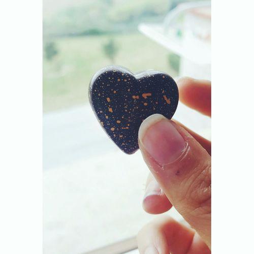 Heart Chocolate Lindt Lindtchocolate Arancia Orange Brown Myhome Thanksmom  Delicious Tasty Chocolatelover