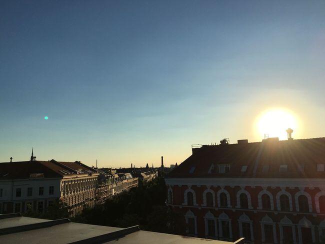 Berlin Prenzlauerberg Kollwitzstrasse Rooftop Sundown Sunrise