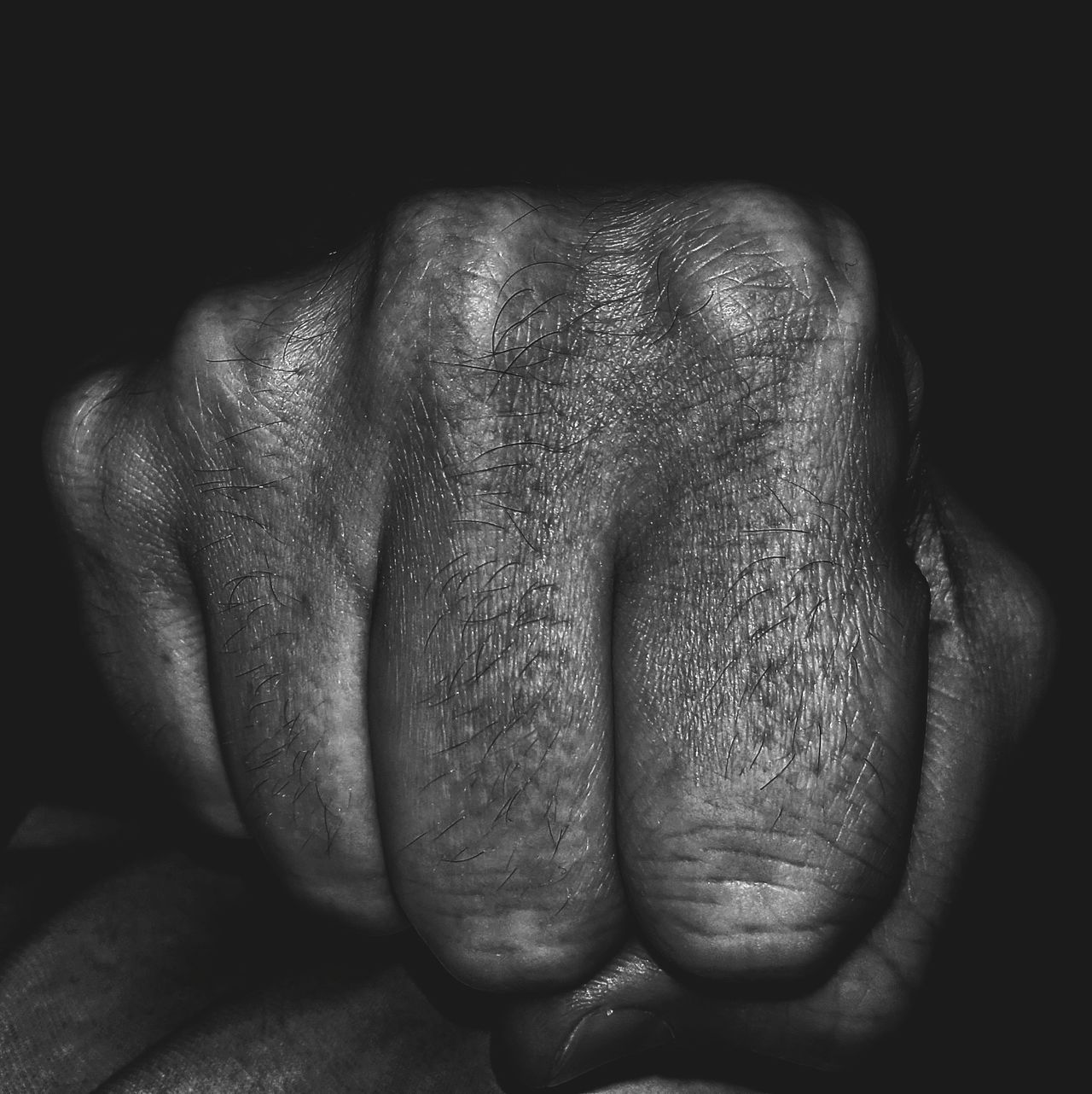 Fist Faust Human Hand Hand Black Background Blackandwhite Photography Blackandwhite Dark Black Background