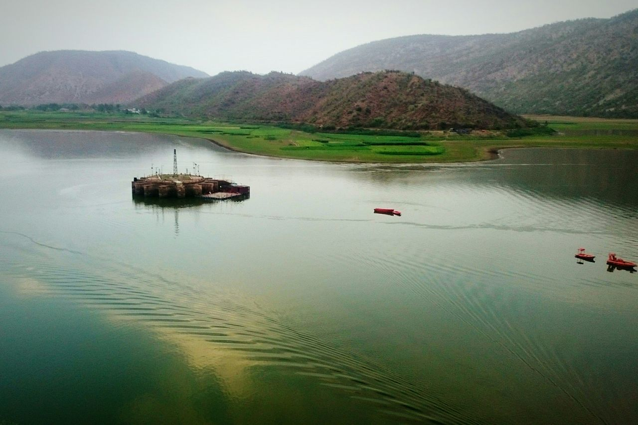Landscape Lake Nature View Mountains Field Plants Green Love Scenery Peace Aravallis Nosignal