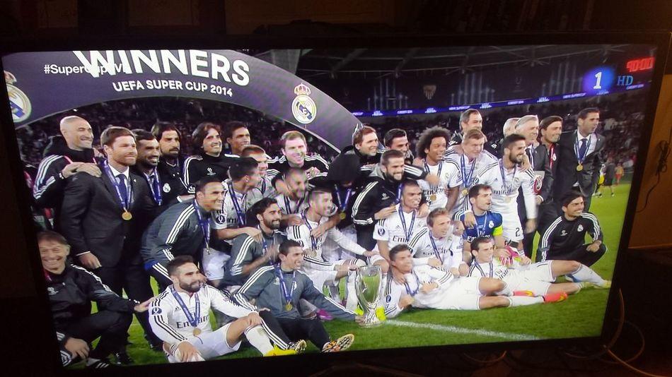 Champion Real Madrid Supercup Hala Madrid