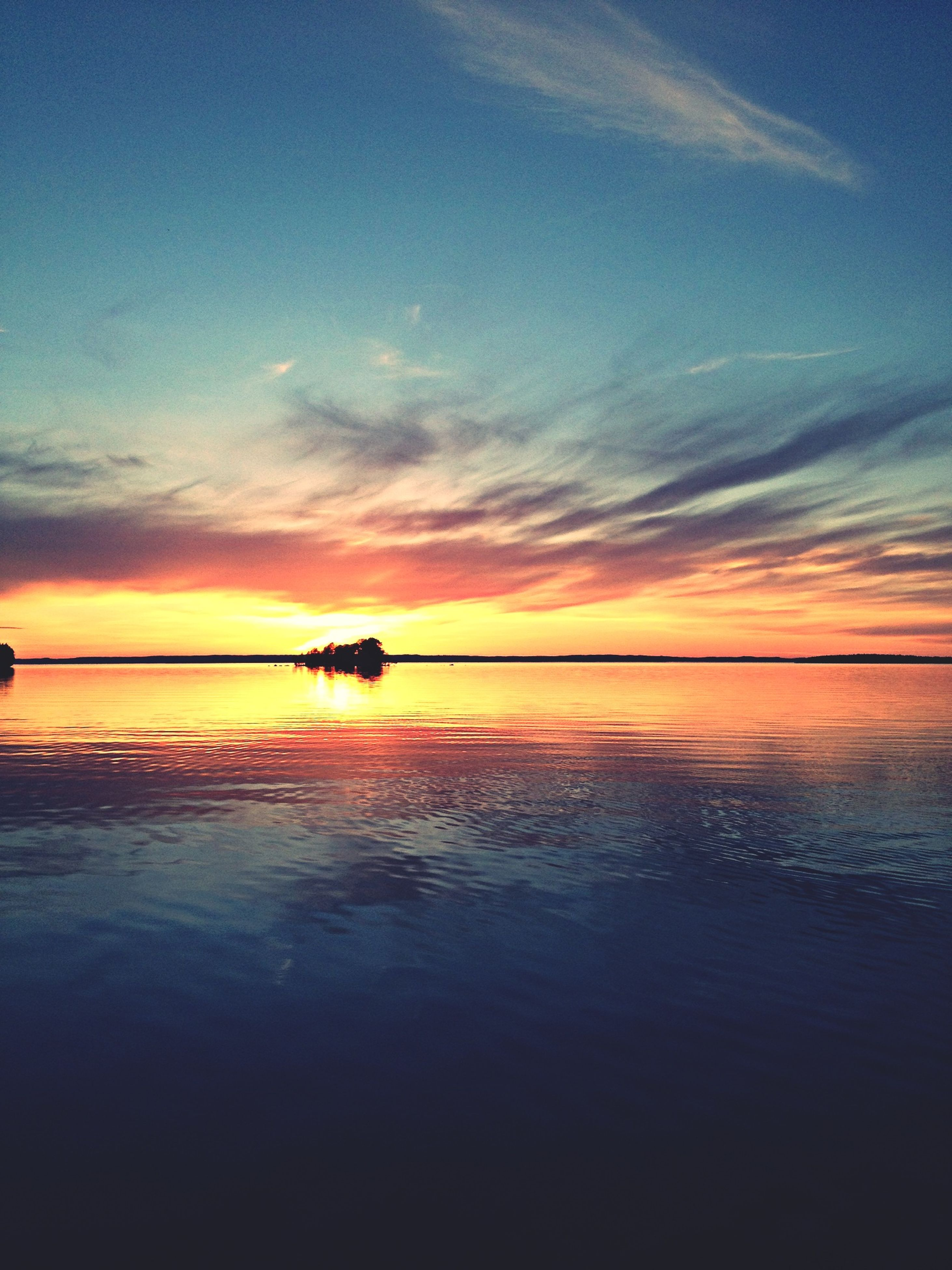 sunset, water, sea, horizon over water, sky, scenics, tranquil scene, tranquility, beauty in nature, orange color, reflection, cloud - sky, silhouette, nature, idyllic, beach, cloud, nautical vessel, waterfront, shore