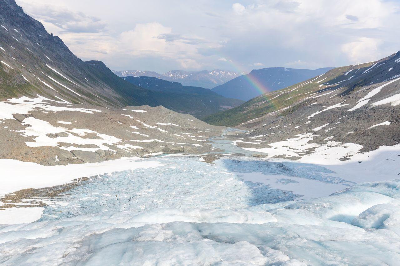 Beautiful stock photos of regenbogen, Beauty In Nature, Cloud - Sky, Cloudy, Cold Temperature
