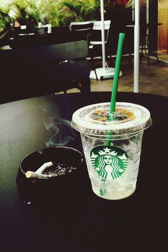 Chill Day Starbucks Relax