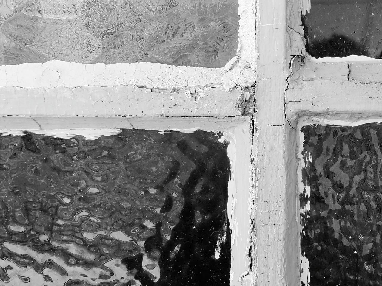 window, day, built structure, architecture, no people, textured, outdoors, close-up, water, building exterior