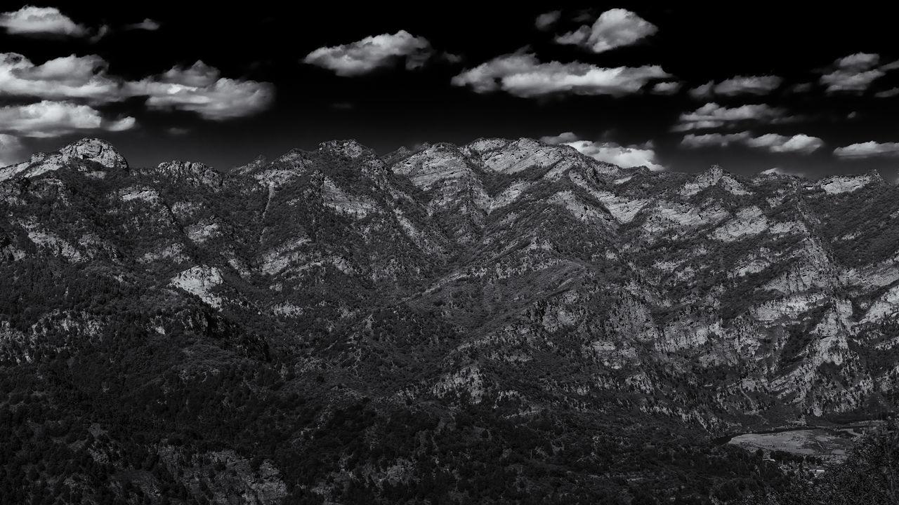 Black & White Chi N Landscape Mount Agung Mountain Range S K Y T Rex  Wildlife & Nature The Great Outdoors - 2017 EyeEm Awards