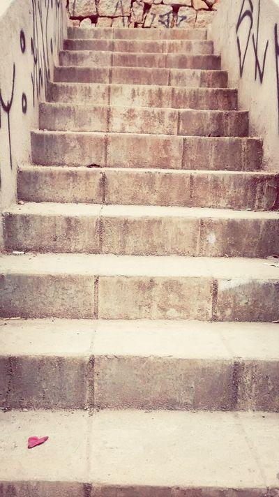 Um passo de cada vez Escada Subir Escadaria Sei La