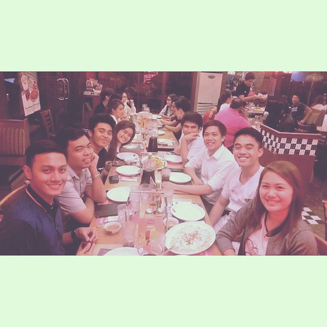 Had my lunch and dinner at Shakeys. UmayNa Goodfriends Alumni IABFSC Kamustahan