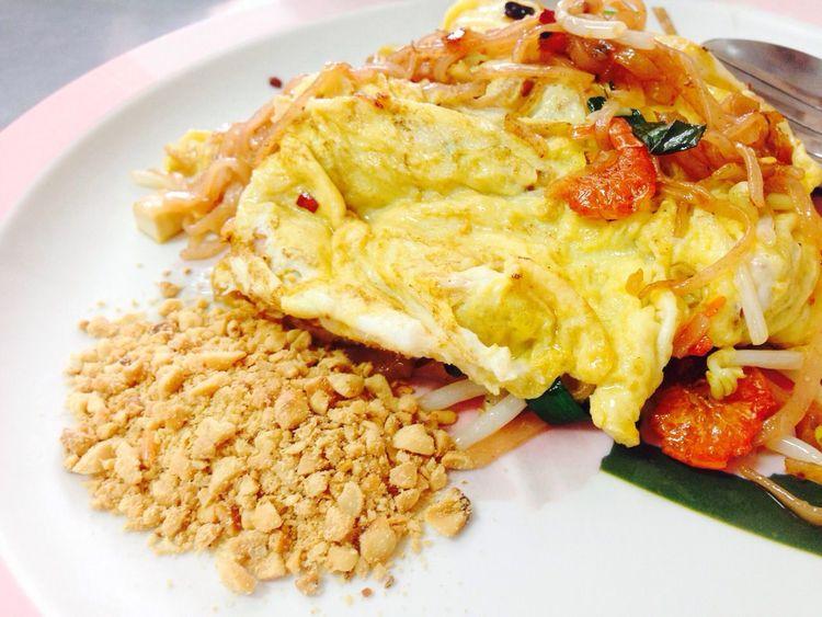 Pad Thai Thaifood Eating Food