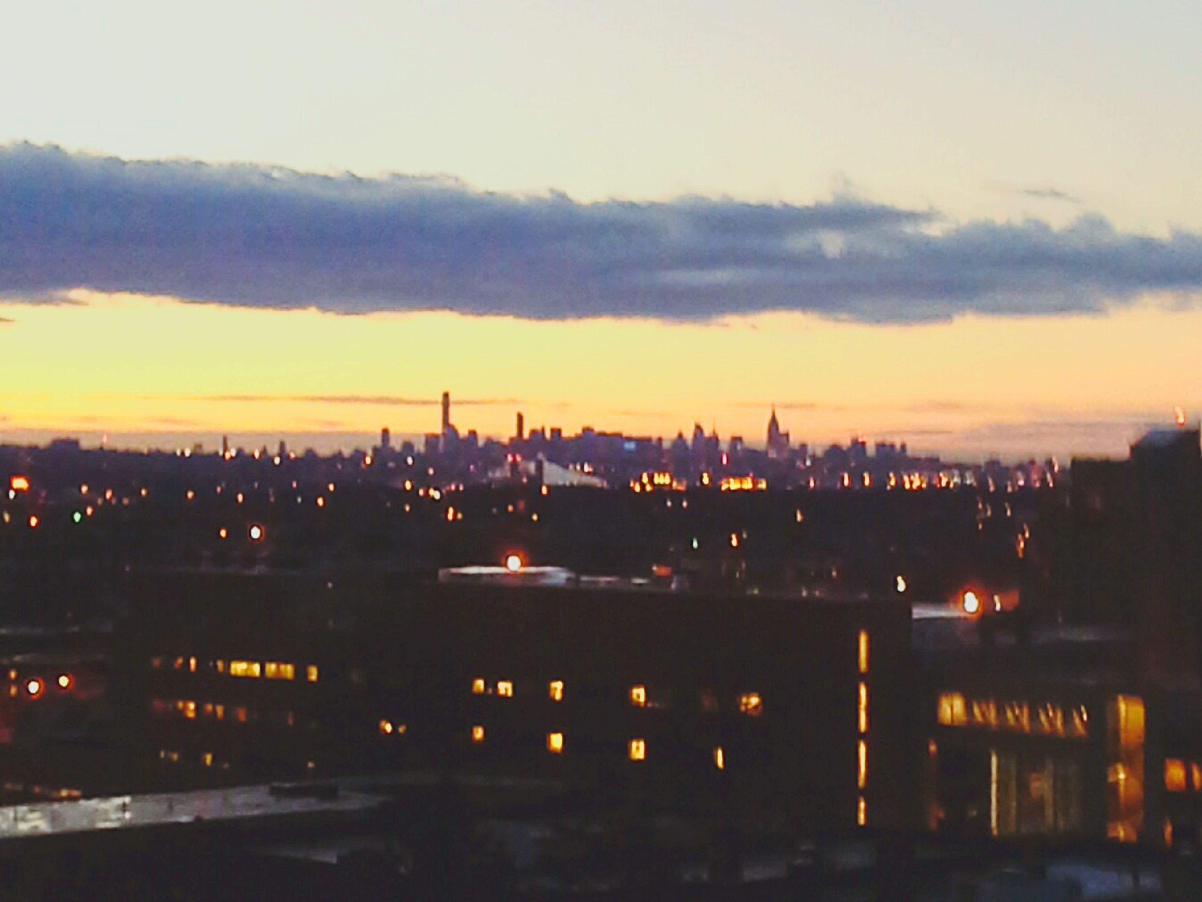 Newyorkskyline Way Too Early Sunrise