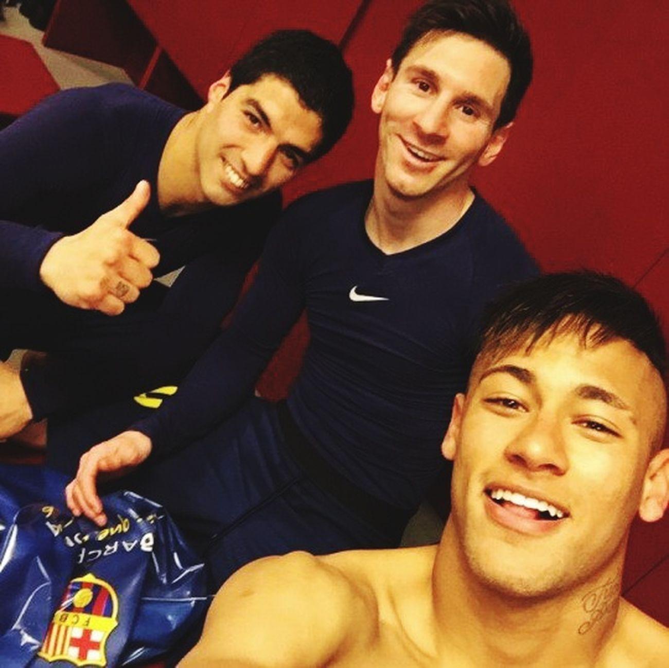 My love <3 First Eyeem Photo FC Barcelona Leonel Messi Luis Suarez Neymar  Fc Barcellona My Love❤