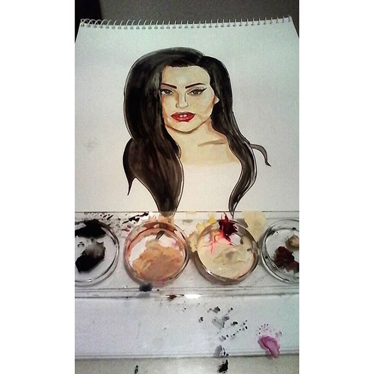 @ladygaga in progress ❤ Art Ladygaga Gaga Artist Draw Drawing Paint Painting Sketching Sketch Illustration Graphic Arts_help Instadaily Instagood Instamood Pic Picture Picoftheday Photo Mothermonster Littlemonster Fanart Artistic Photooftheday