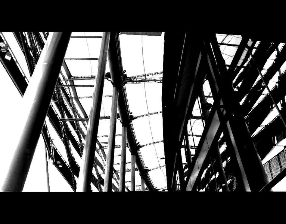 Consonant. 1.78:1 Black And White Architecture Perspective