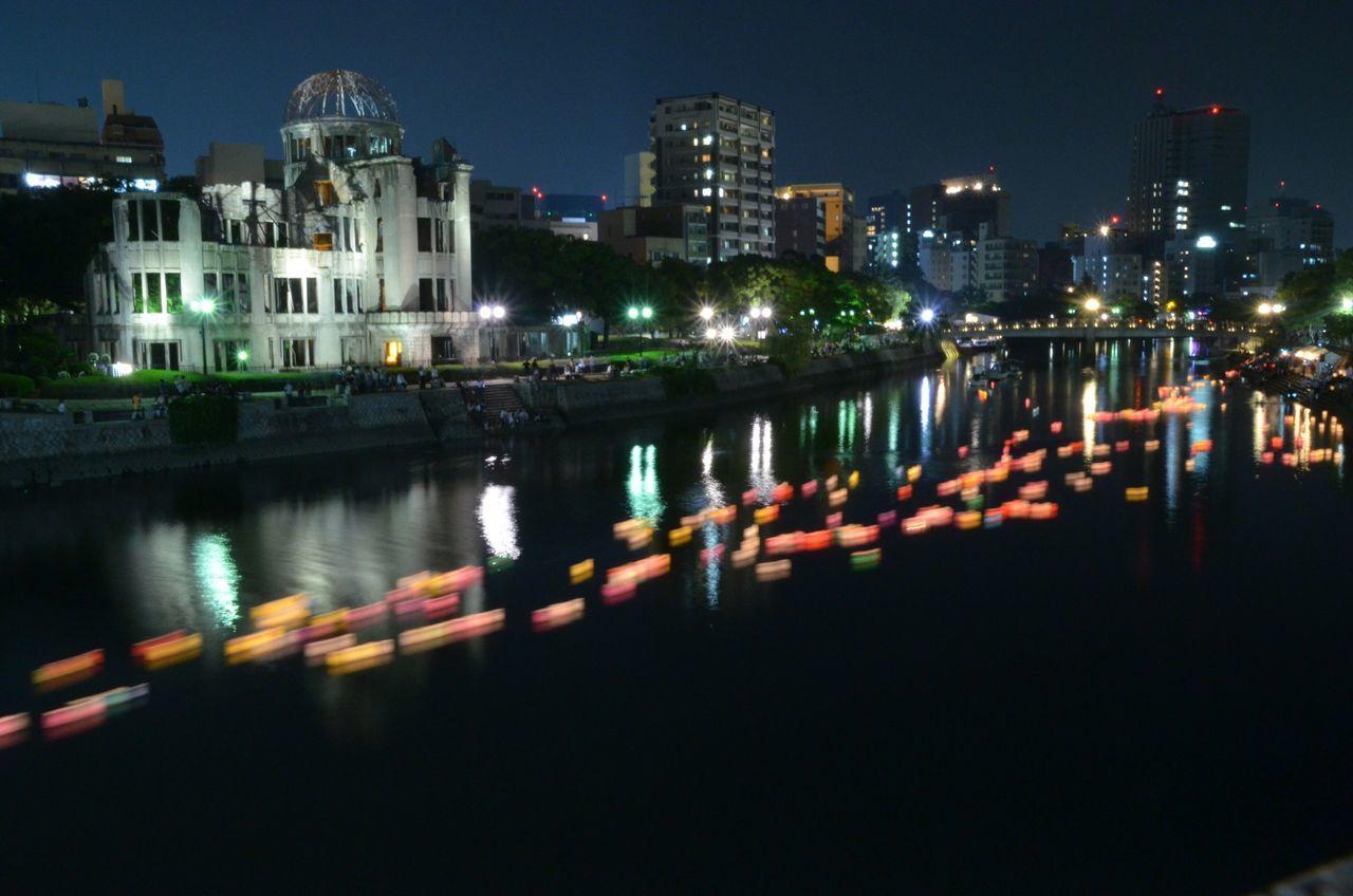 毎日平和でありがたい❤️ #Hiroshima #平和 #peace #おり鶴 #灯籠流し#8月6日 #平和公園 #原爆ドーム