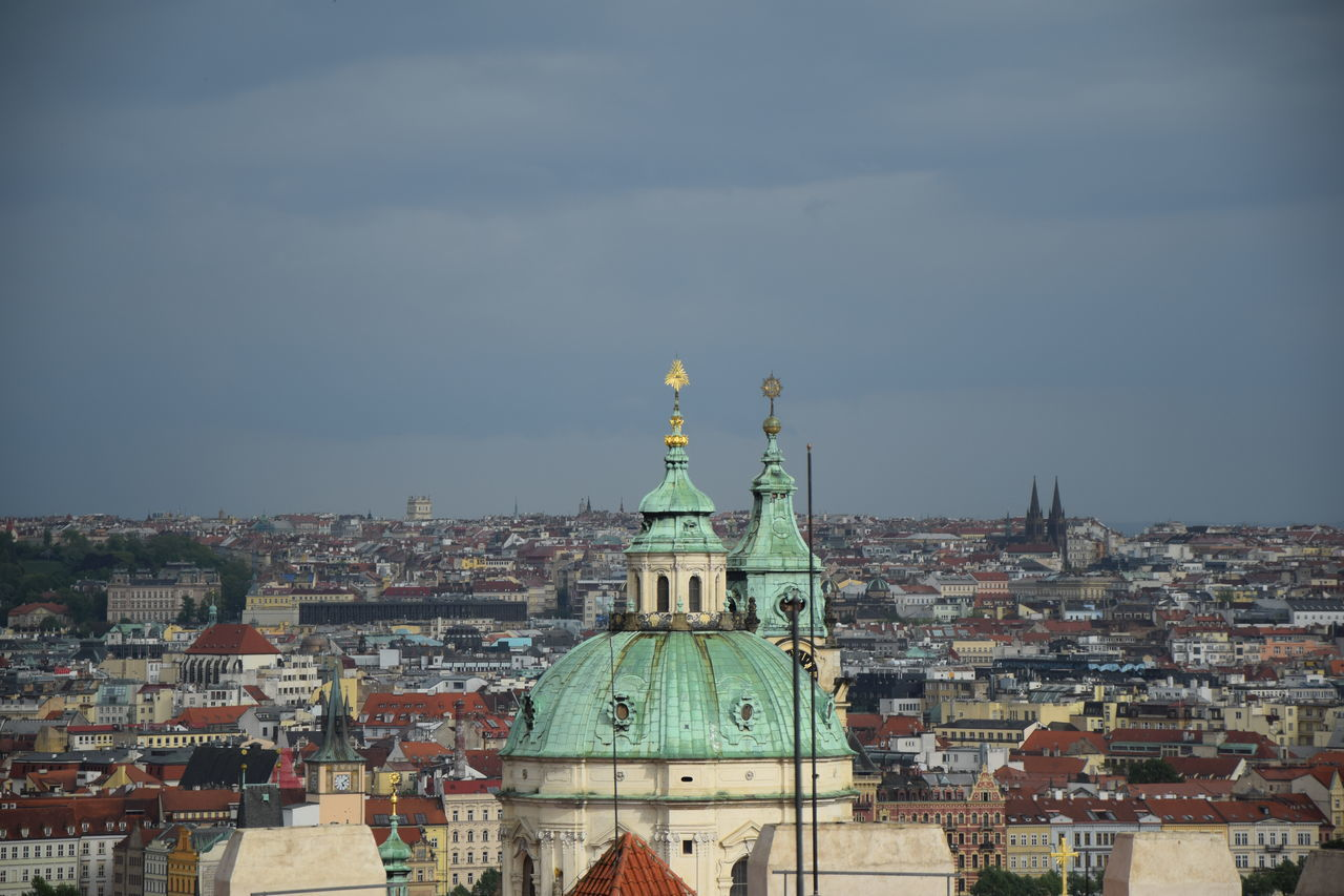 Prague The Week On Eyem EyeEm Best Shots Sky Green Blue Old Buildings Old Town Prague Old Town Cityscape Cityscapes City View  Travel Photography The Purist (no Edit, No Filter) The Week On EyeEem Finding New Frontiers