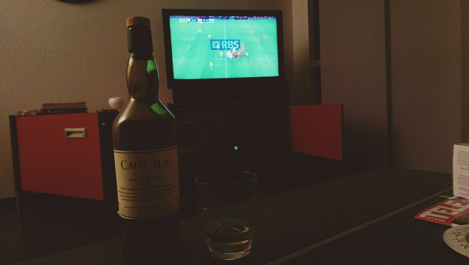 Whisky and Rugby 6 Nations, what a great match