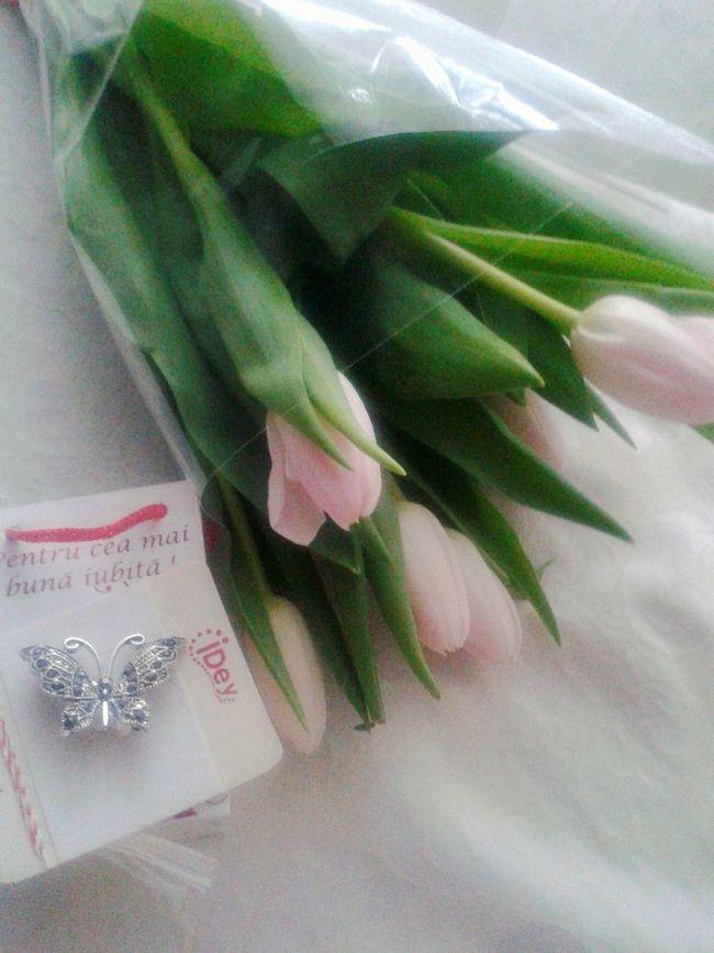 Gift From Boyfriend Spring Flowers Spring Love ❤ best girlfriend..hehe Love ♥
