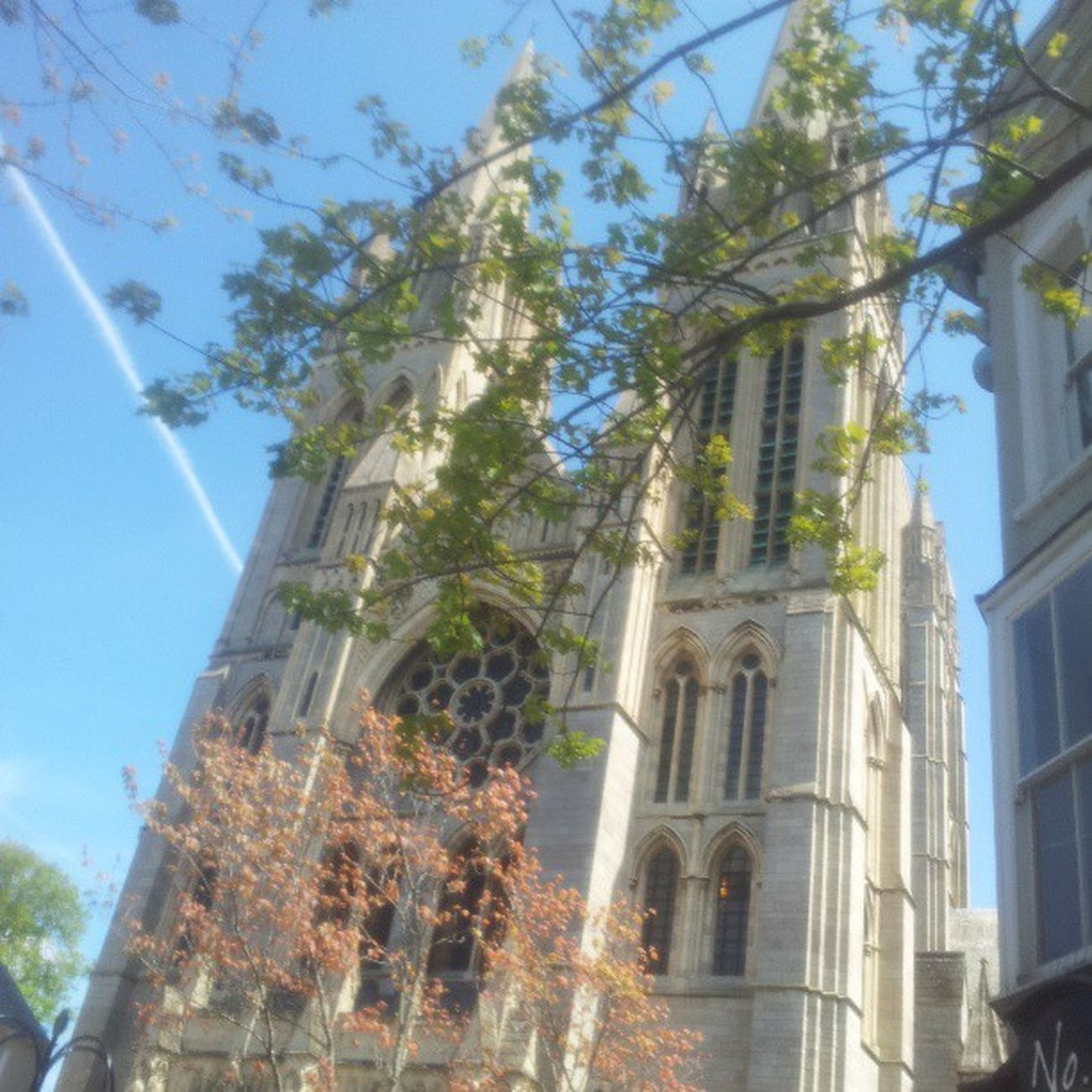 Trurocathedral Truro Kernow Cornwall cathedral bluesky