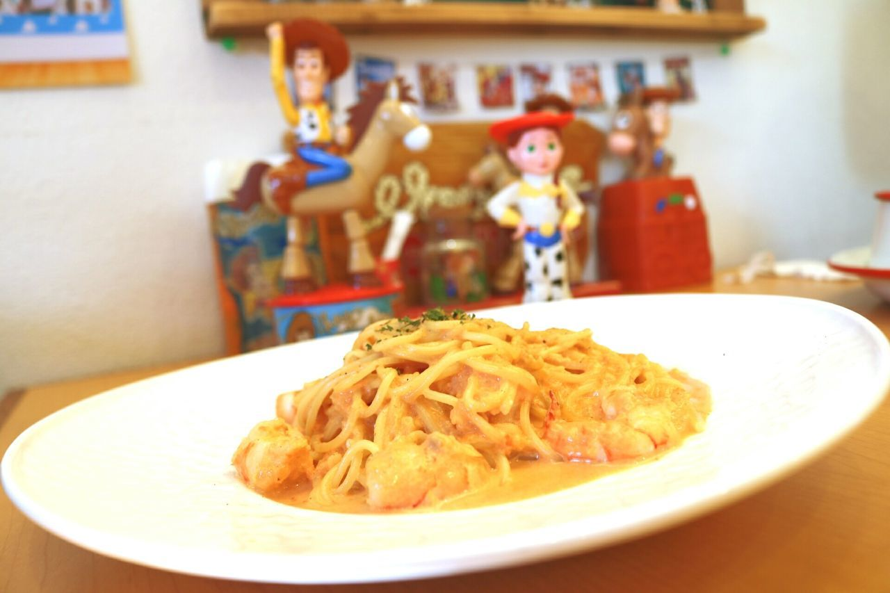 Cultures Indoors  No People Food Close-up Day Pasta Toystory Toystoryland Cafe