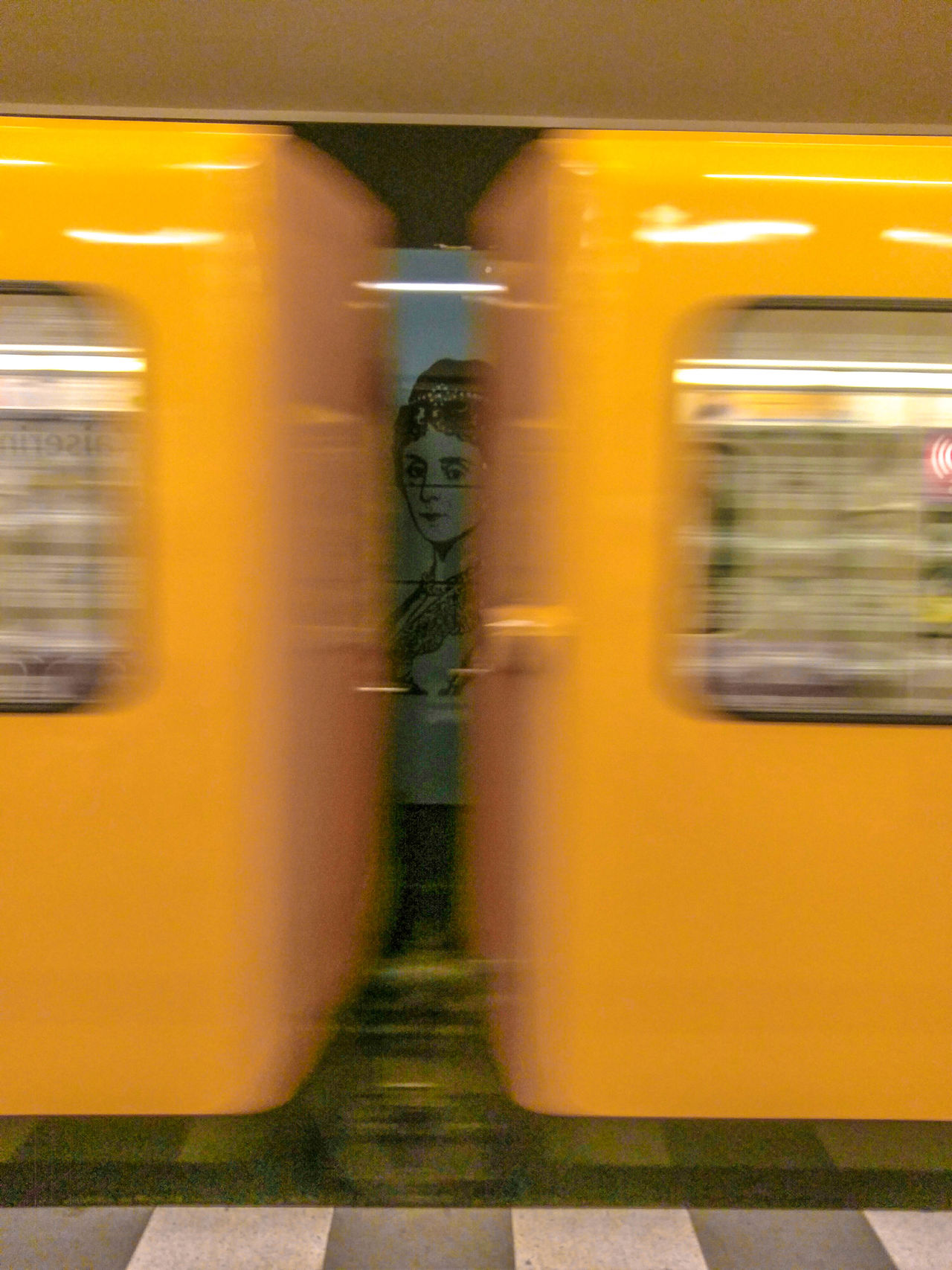 Random Underground Photo Berlin Bvg Commuting Moving Mystery Public Transportation Subway Train Train Station Transportation Ubahn Ubahn Berlin Underground Untergrund Yellow