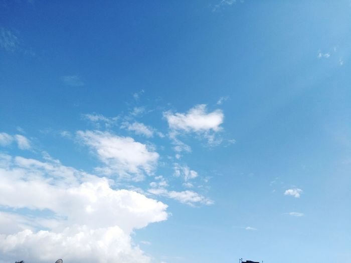 Blue Cloud - Sky Nature Sky Backgrounds Sky Only Scenics Beauty In Nature Day No People Outdoors Let's Go. Together.