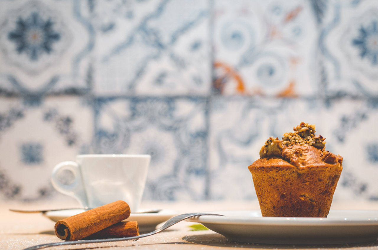 Baked Cake Cofee Break Coffee Coffee Time Food Food And Drink Foodphotography Freshness Muffin Pastry Plate Ready-to-eat Sweet Food Temptation Visual Feast