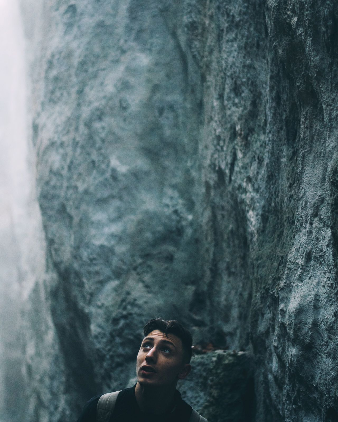 Focus Object Real People Standing Nature Leisure Activity Beauty In Nature People Landscape Rock Cliff Rock Formation HEAD