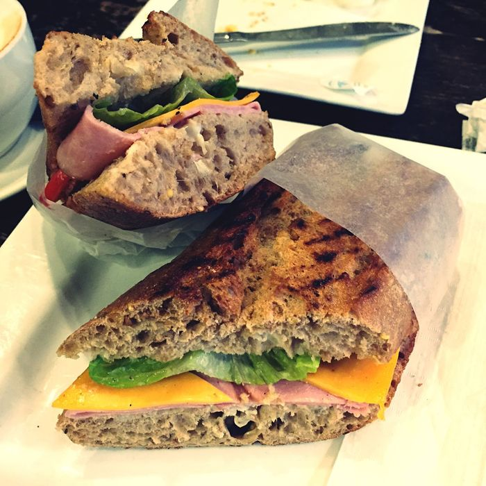 Hamandcheesesandwich Cheddarcheese Turkey Ham Morning Rituals Breakfast ♥ The EyeEm Breakfast Club