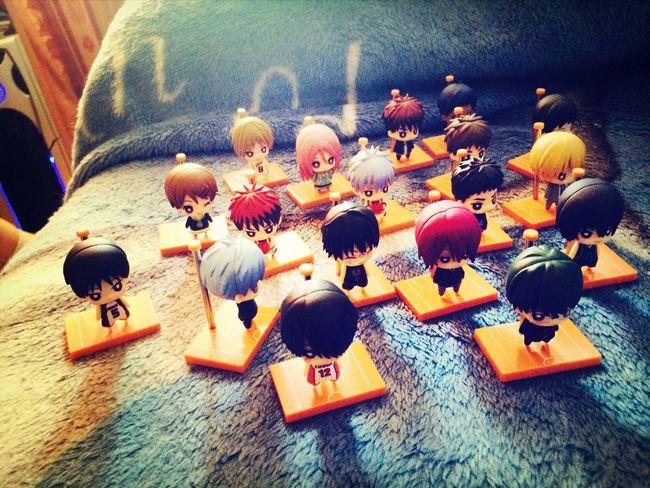 My little army Anime Figures Kuroko No Basuke Kotobukiya