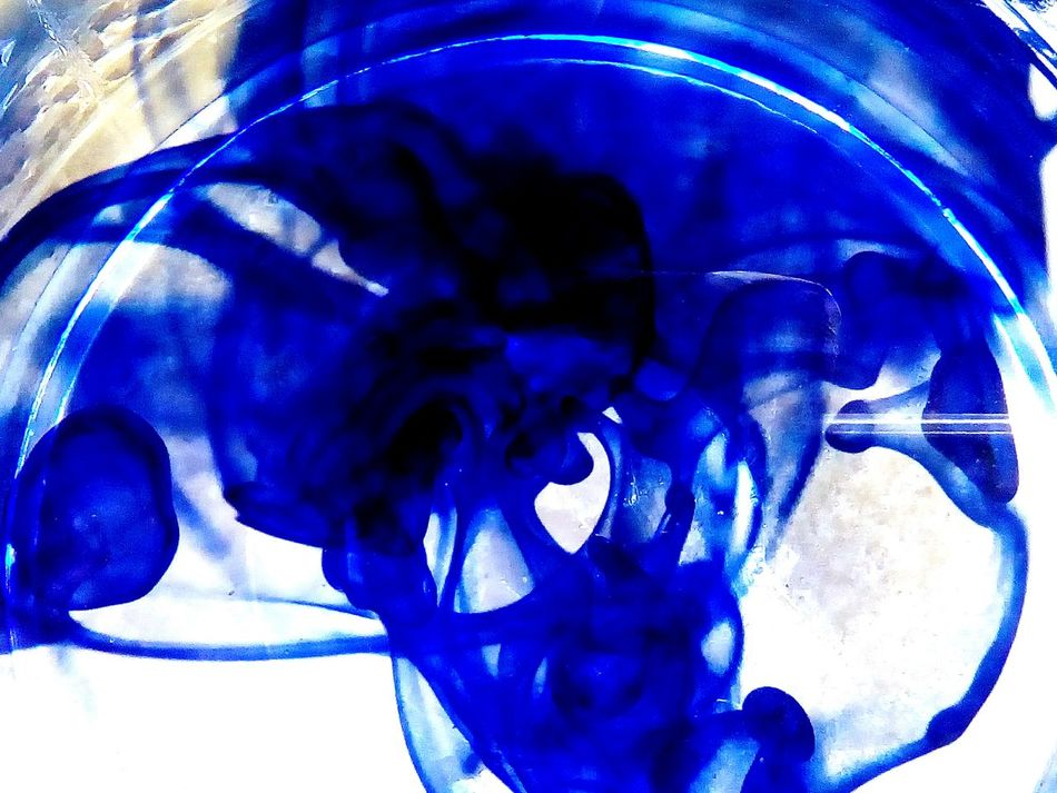 Blue Blue Paint Inwater Colourplay From My Point Of View Blue Color Colour Creative Creativity Creative Photography Artistic Artistic Photography Abstractart Abstract Abstractions In Colors Abstract Photography Liquid Color Mixture  Mixture Of Two Mixture Of Beauty