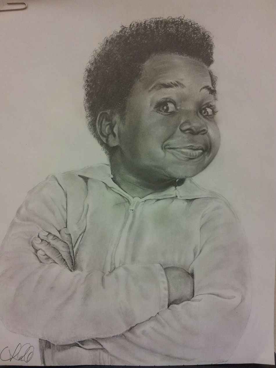 """""""...what you talking bout Willis!"""" Different Strokes Arnold Drummond"""