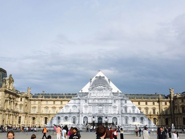 The Magic Mission Musedelouvre Pyramide Du Louvre Pyramid of Louvre just disappeared
