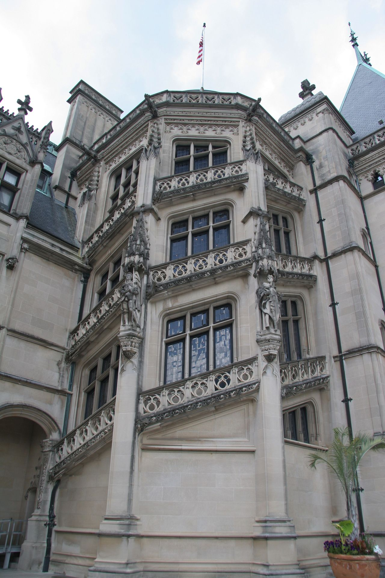 The Biltmore Estate Mansion House Building Architecture Asheville North Carolina