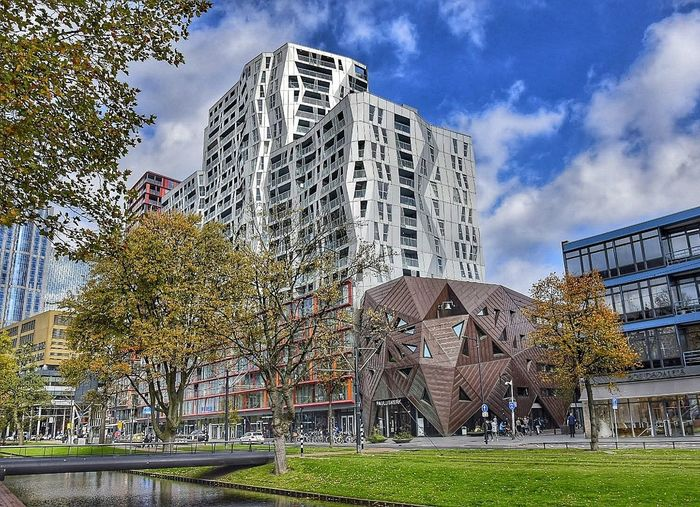 Citylife Architecture Built Structure Building Exterior City City City Life Cityscape Cityscapes City Street Netherlands Holland Rotterdam Streerphotography Streetphotography Nikon Nikonnl Skyscraper Modern Sky Day Outdoors Destination trip Roadtrip NIKON D5300 Downtown District
