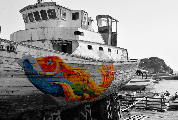 Porto Acitrezza  B&w Streetphoto_bw Peschereccio Catania Panoramas Street Style Sicilia Boat Sicily Color Splash