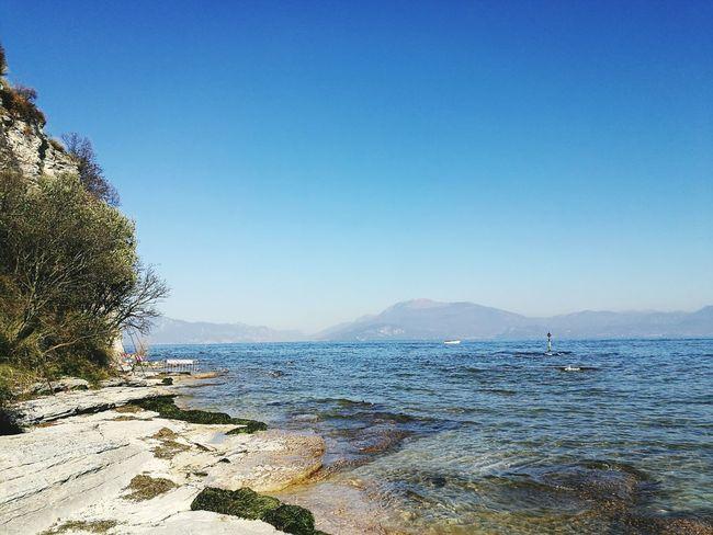 Lower level of Grotte di Catullo, Garda lake!