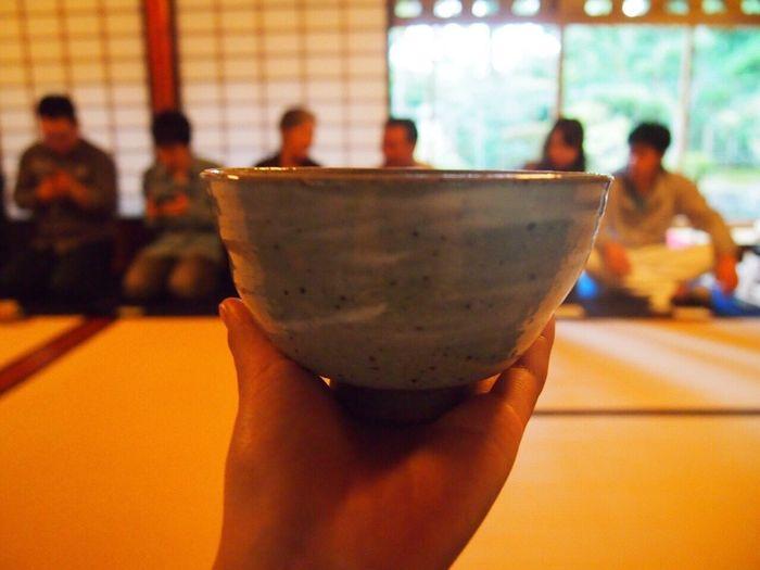 兼六園でお茶 Kenrokuen 兼六園 Garden Kanazawa Ishikawa-ken Japan Tea 茶 Culture 和