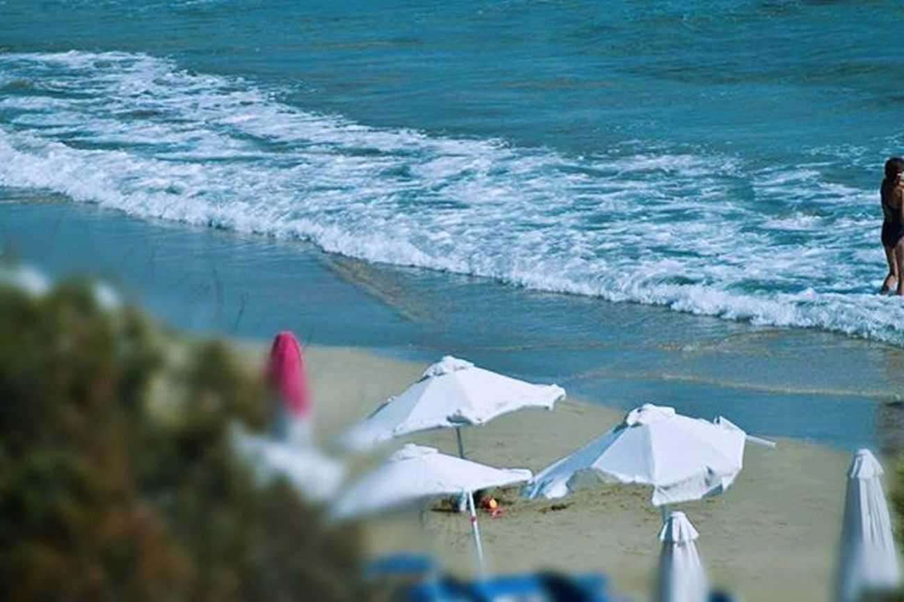 Beach Cyprus Summer Waves Splash Nikoncamera Umbrella Chilling Photography Blue Sunny Clickfor5kfollows Clickfor500gains Hitfor100fans Hitfor100follows Holidays Igers Instafamous Instadaily Followme Photooftheday