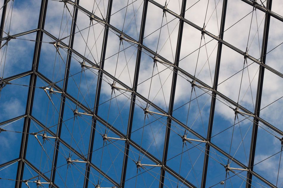 Architecture Blue Built Structure Day Geometric Shape Glass Glass - Material Louve Modern No People Pattern Reflection Repetition Sky Structure Structures & Lines Urban Skyline Window Windows Seeing The World Seeing The Sights Lookingup Glass Windowsw