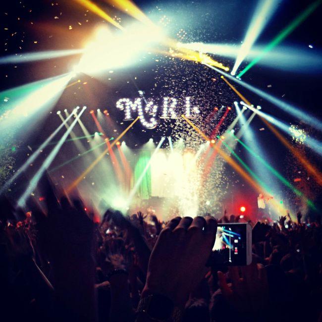 Concert Macklemore & Ryan Lewis Lights HTC_photography Zurich, Switzerland