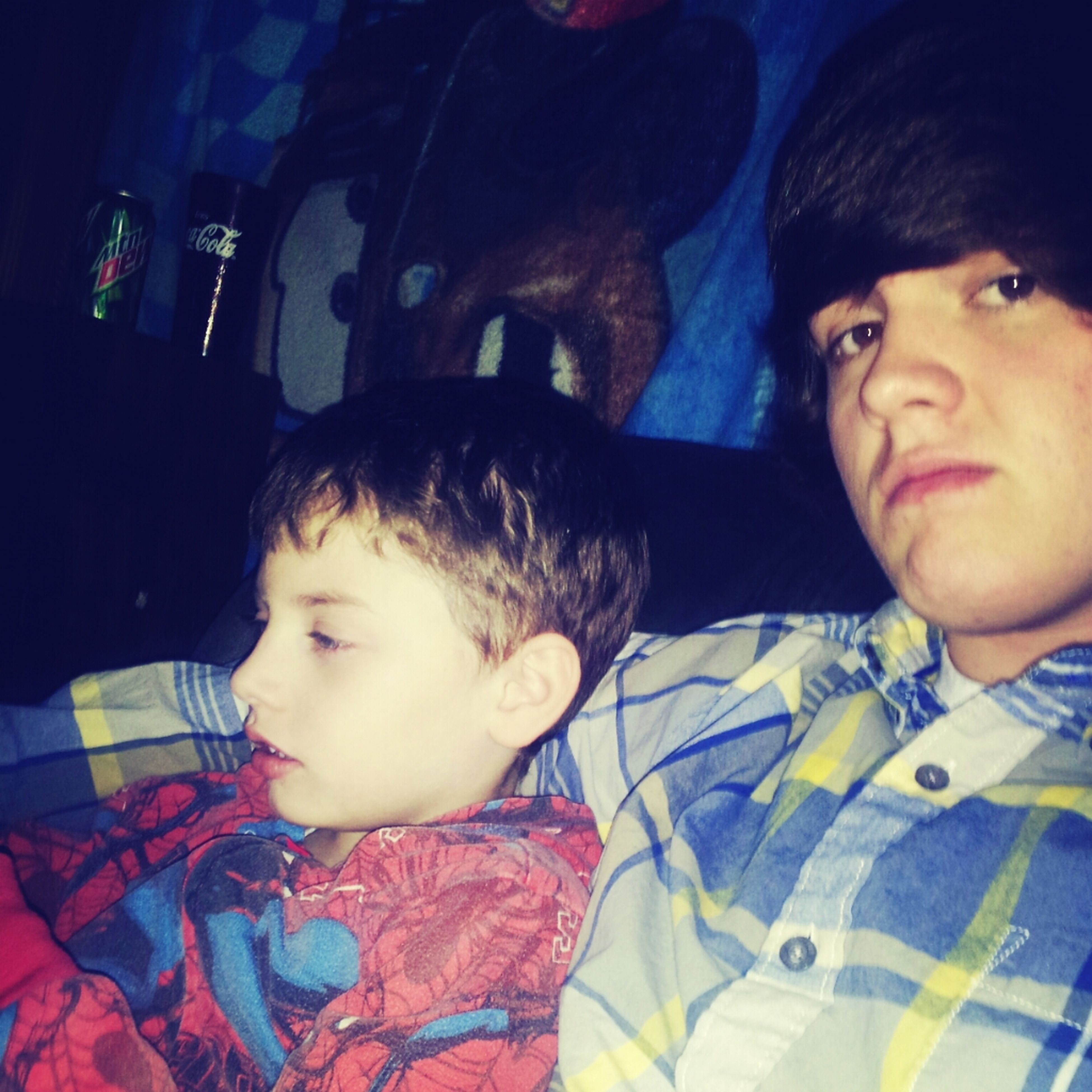 Hanging With My Little Bro