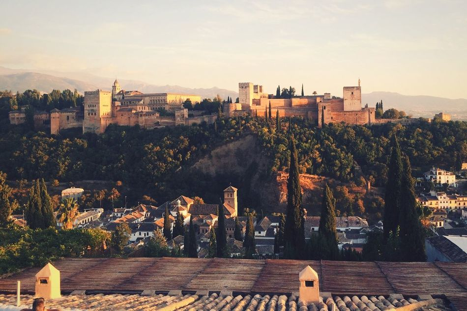 Beautiful stock photos of spain, Alhambra, Architecture, Beauty In Nature, Building Exterior