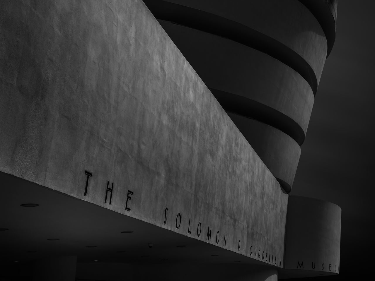 The Guggenheim Museum, NYC, as Fine Art Black & White Image. Architecture Built Structure Close-up Day Fine Art Fine Art Photography Fineart Fineartphotography Guggenheim Guggenheim Museum Guggenheim Nyc Guggenheimmuseum Low Angle View No People Outdoors Sky Solomon R. Guggenheim Museum