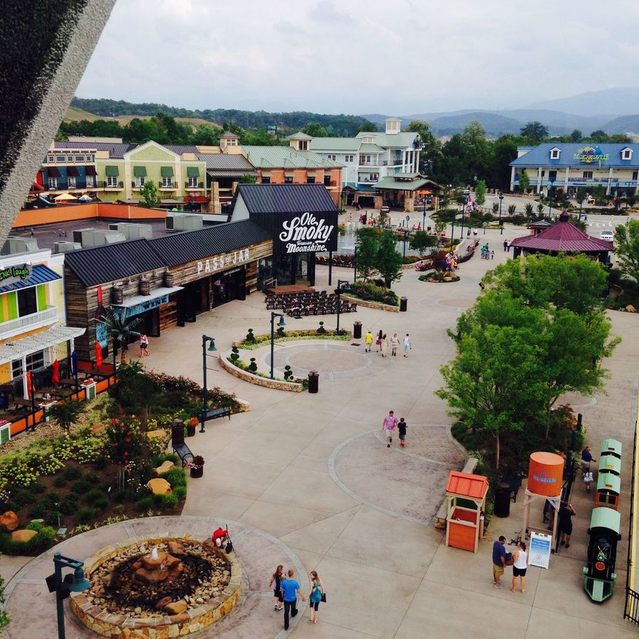 The island at pigeon forge Pigeon Forge The Island Ferris Wheel Smoky Mountains Tennessee Mountain View Landscape