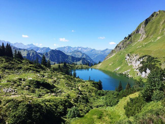 Mountain Scenics Oberstdorf & Umgebung Seealpsee Hike Nebelhorn Kaiserwetter