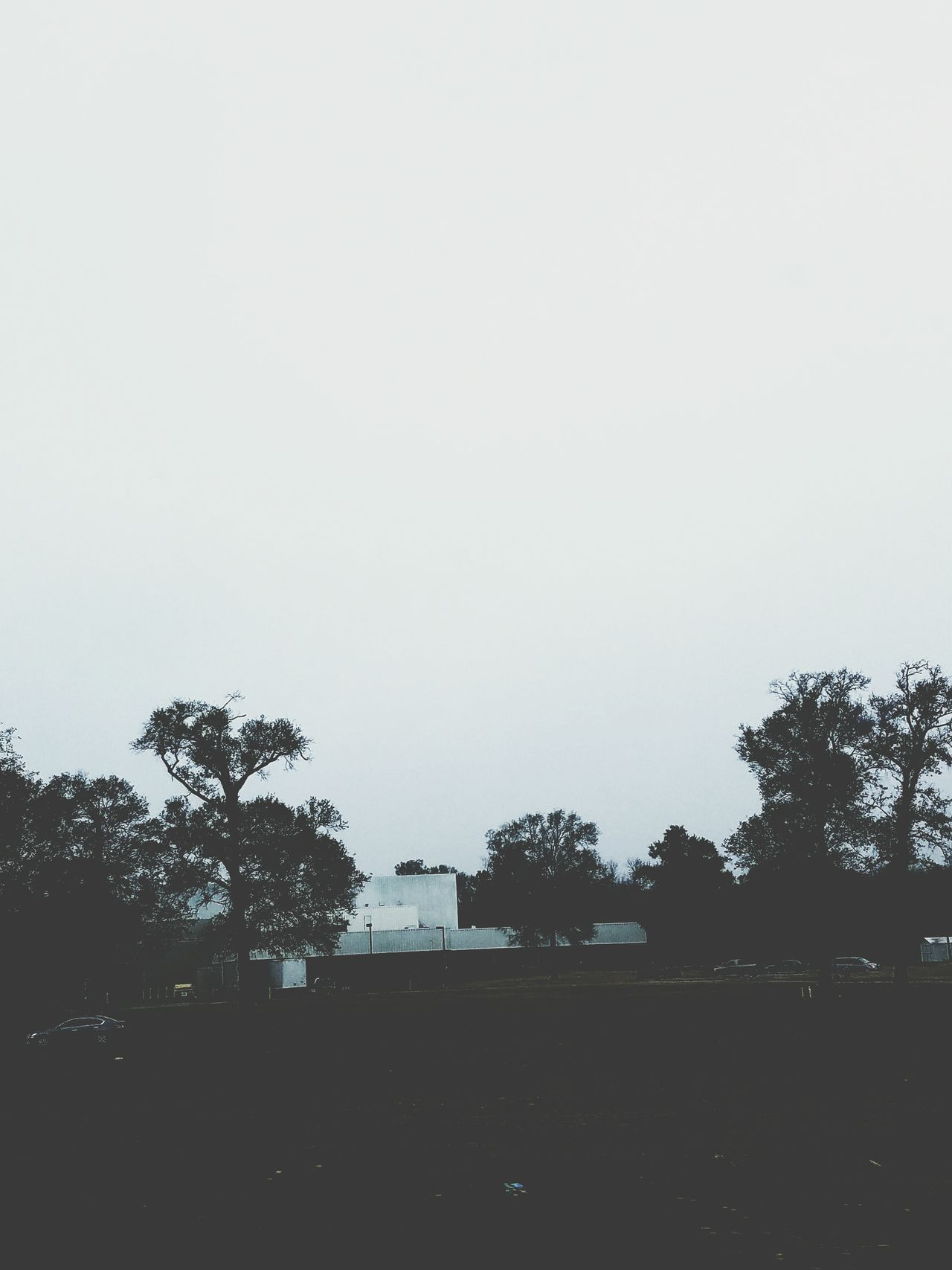 Sky Silhouette No People Nature Tranquility Day Gloomy Weather Lifestyles Buildings And Sky