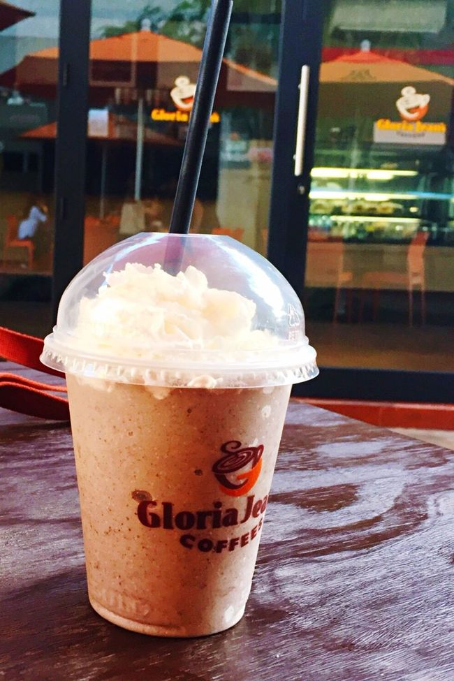 University ✨ Gloria Jean's Coffee Capture The Moment Yummy Like