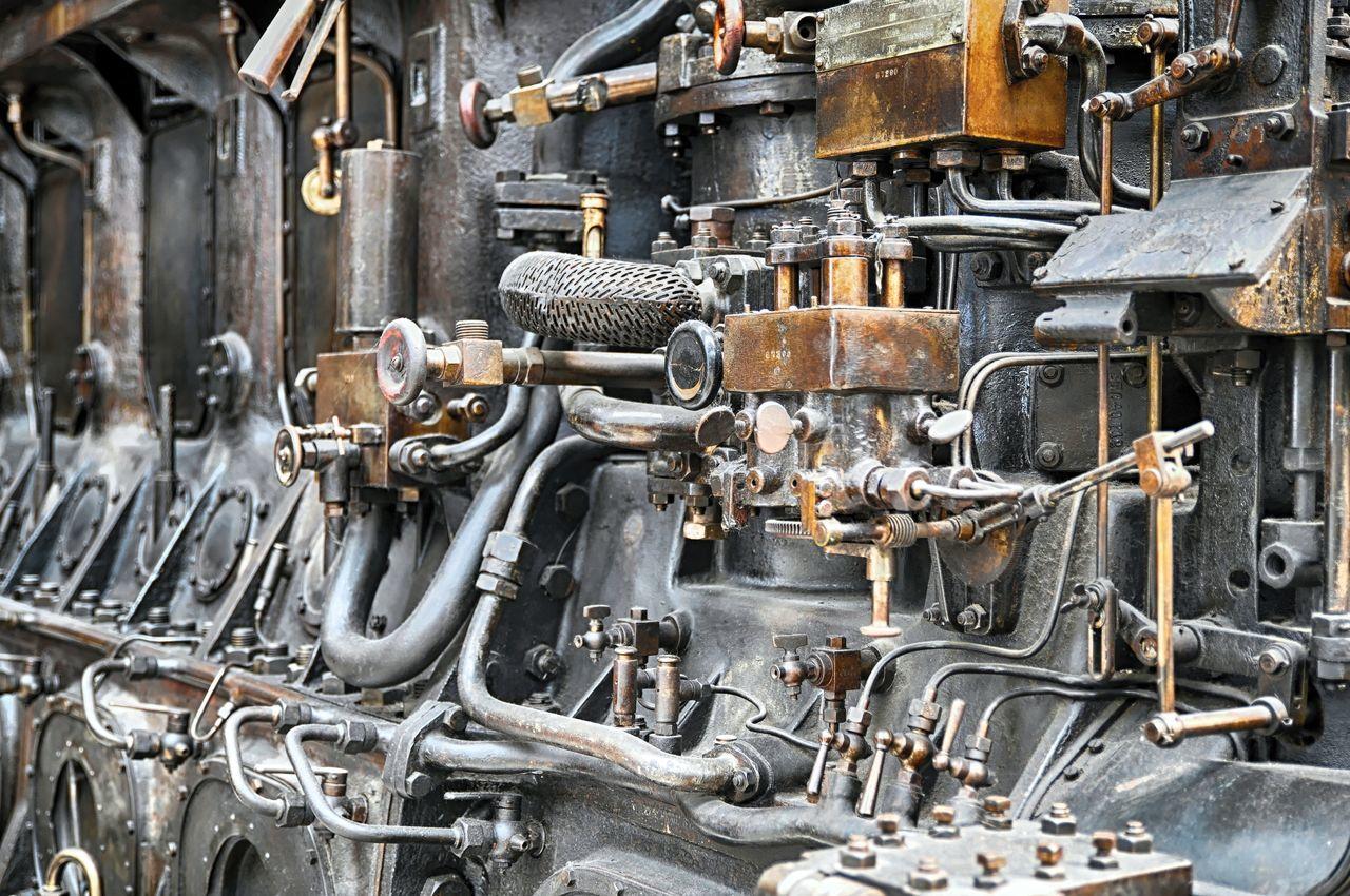 Diesel Diesel Engine Engine Industry Metal Motor Old Engine Work Tool